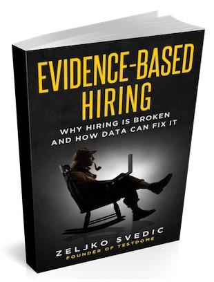Evidence-Based Hiring cover